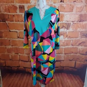 Tracy Negoshian Dresses - Tracy Negoshain multi colored dress